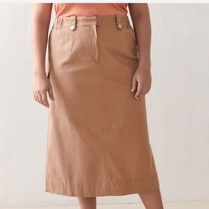 Additionelle High Waisted Cargo Skirt size 10